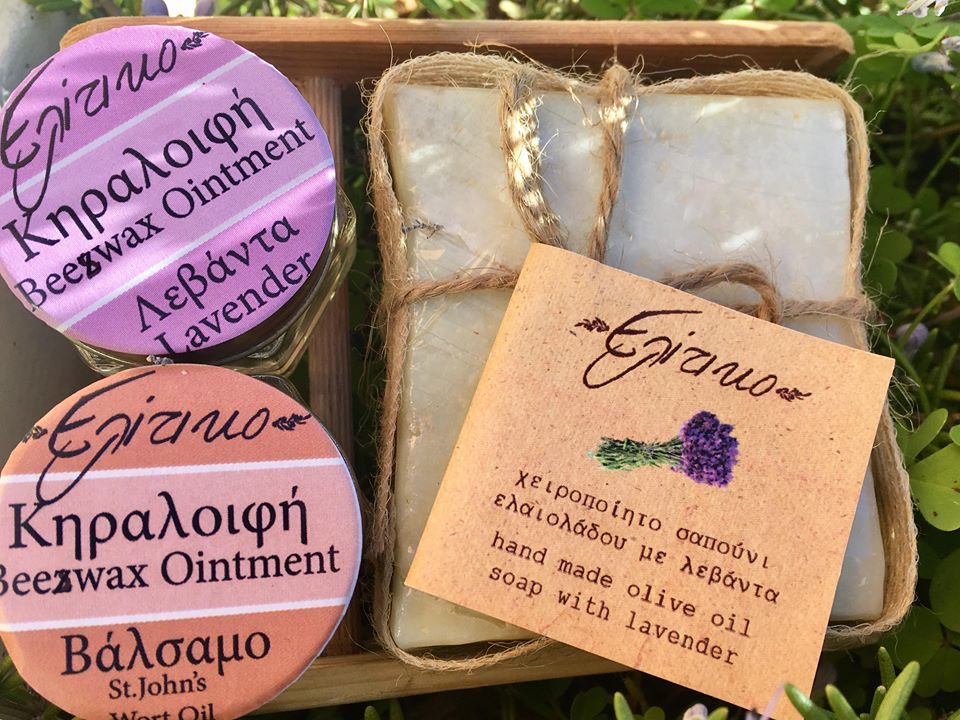 Pure natural hand made products of kefalonia